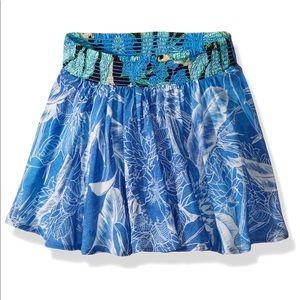 "NEW MAAJI Blue ""Cutie Armadillo"" Skirt Swim Cover"